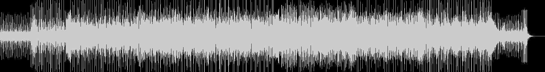 ほのぼのするリズムとメロディが印象的な曲の未再生の波形