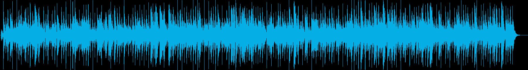 休日のカフェで聴きたいカントリーバラードの再生済みの波形