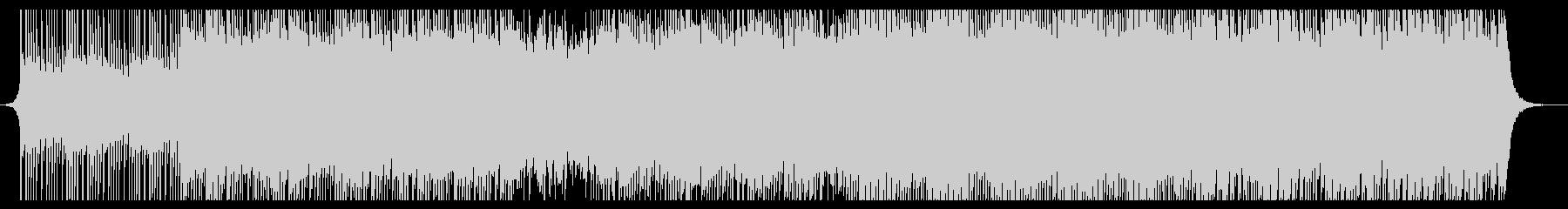 ハッピーアップビートファンの未再生の波形