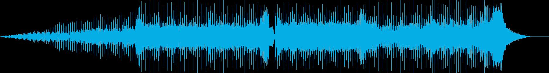 レトロ感溢れるテクノポップの再生済みの波形