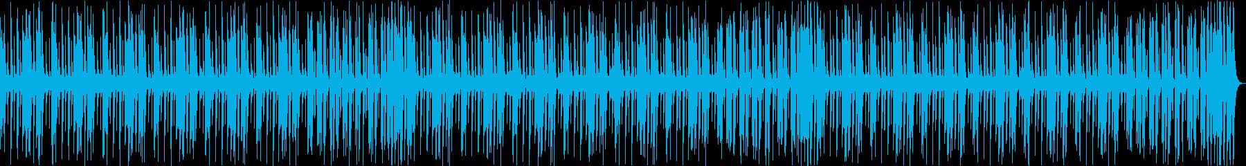 コミカル軽快かわいい日常楽しいCM aの再生済みの波形