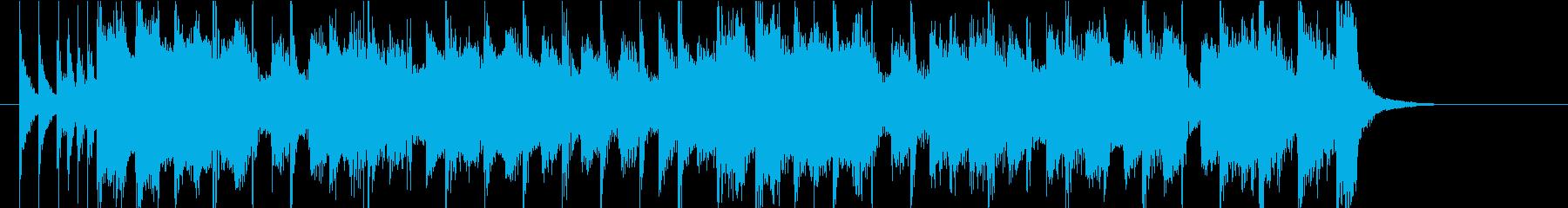 陽気なスカ youtubeオープニングの再生済みの波形