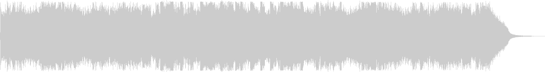 オープニング・おしゃれフューチャーベースの未再生の波形