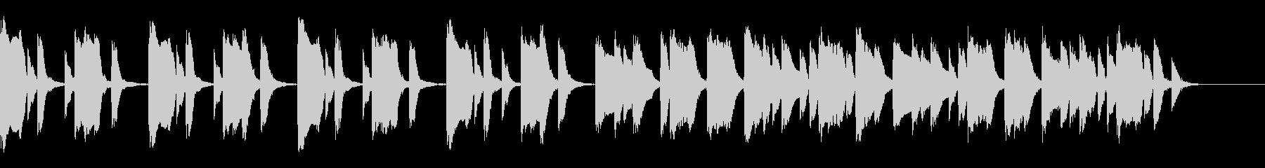 知育・料理・パズル・日常ピアノ22Aの未再生の波形