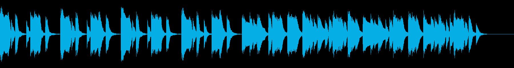 知育・料理・パズル・日常ピアノ22Aの再生済みの波形