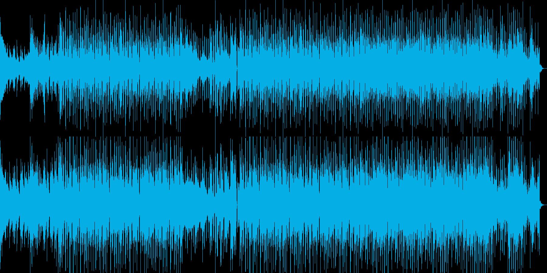 アコギメインでテンポ良いオシャレ曲です。の再生済みの波形
