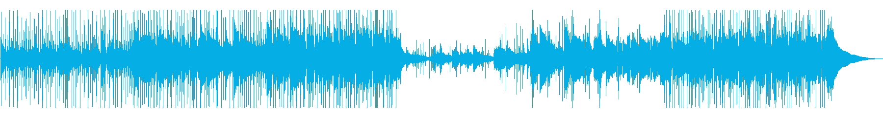 ピアノとドラムから始まるアコーステ...の再生済みの波形