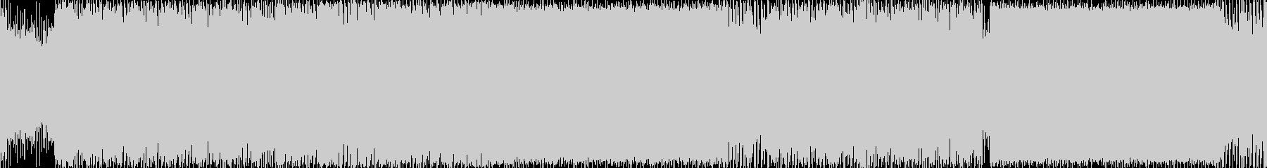 ファンタジーゲームの雪原フィールド曲などの未再生の波形