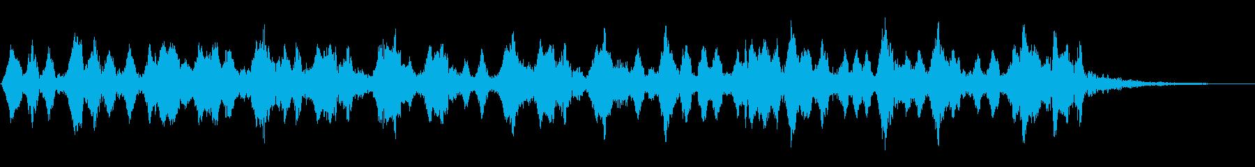 フルートは忙しく、神秘的の再生済みの波形
