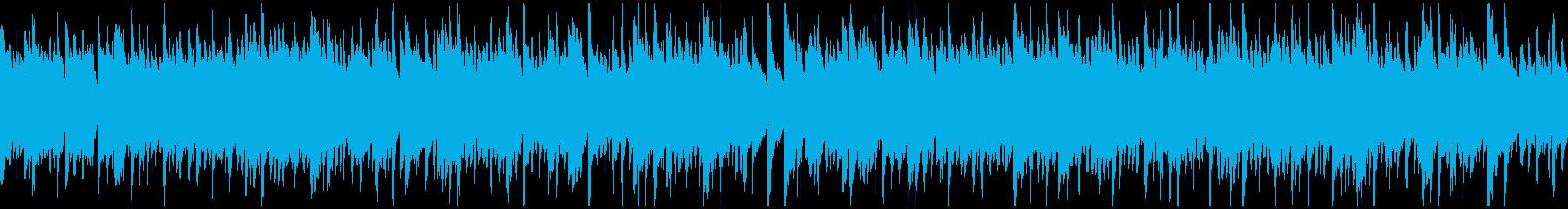 爽やかな風を感じるウクレレ曲 ※ループ版の再生済みの波形
