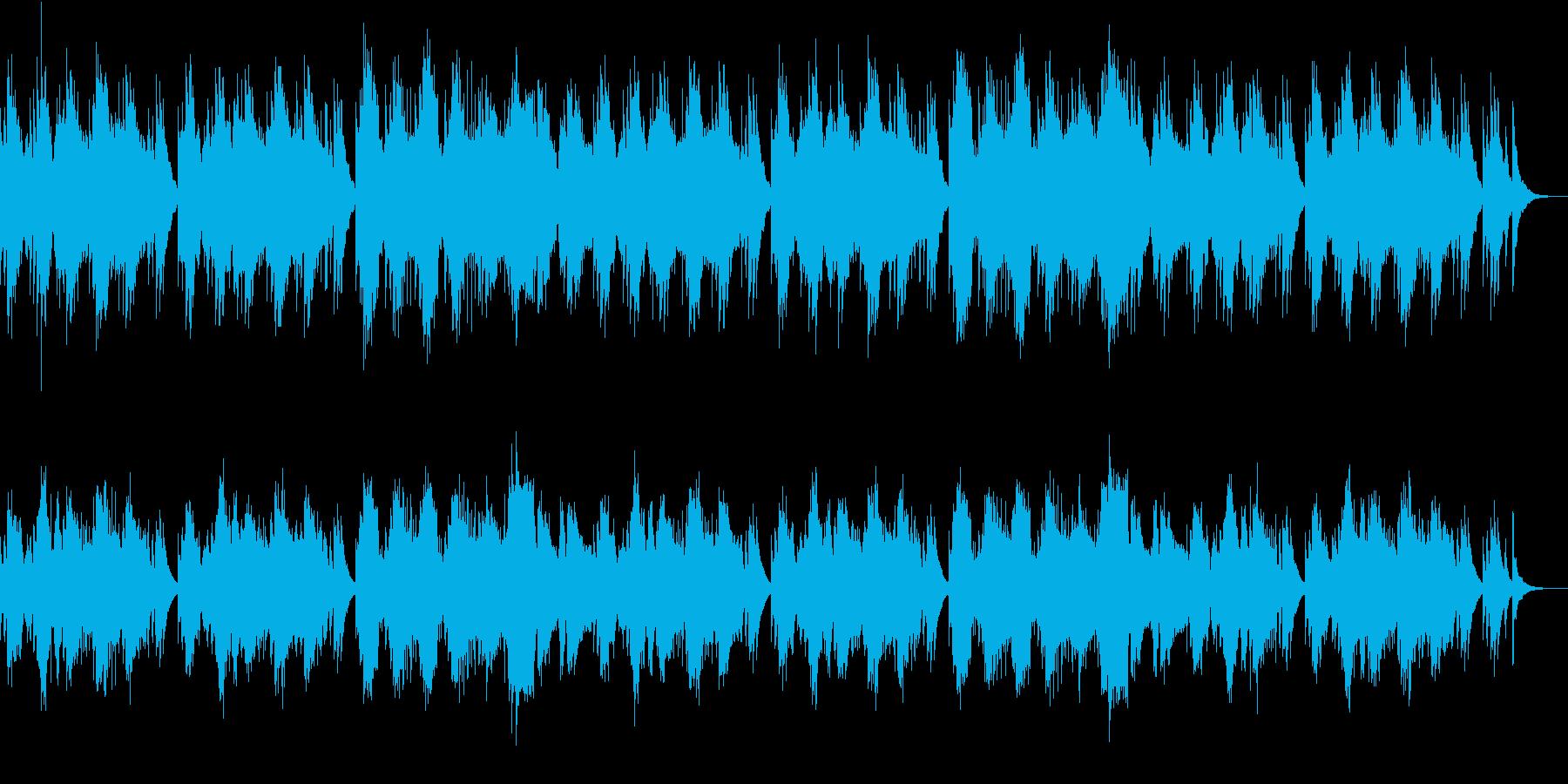 和風情緒漂う琴の調べの再生済みの波形