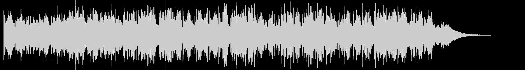ボイスサンプルの入ったアグレッシブな曲の未再生の波形