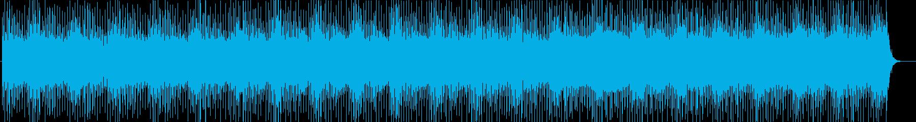 【ニュース系6】シンセ、無機質、坦々aの再生済みの波形