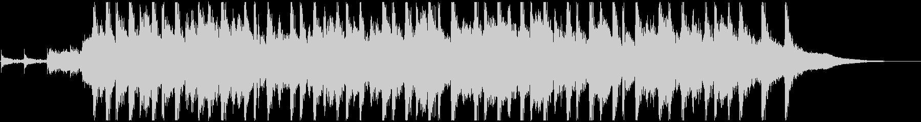 ピッチカート 可愛いマリンバ ジングルCの未再生の波形