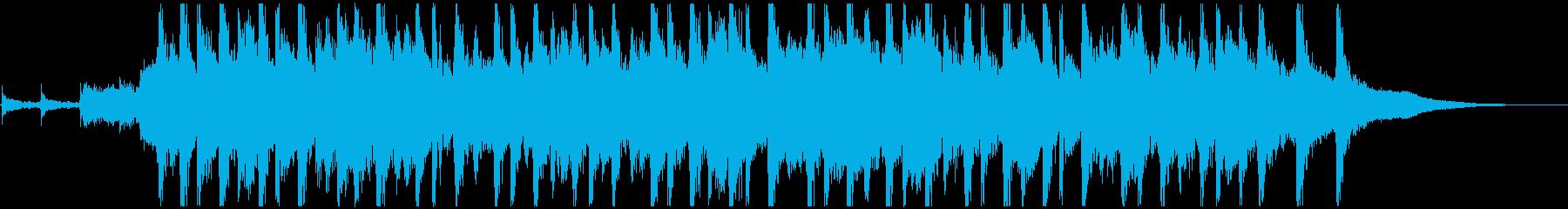 ピッチカート 可愛いマリンバ ジングルCの再生済みの波形