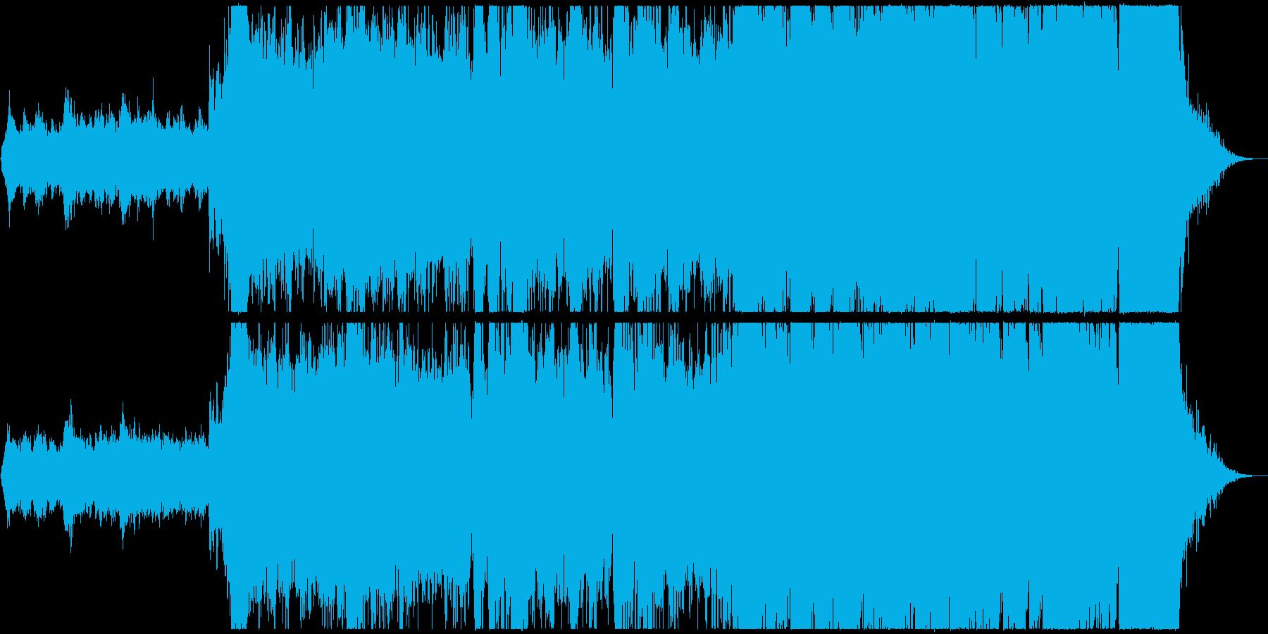 壮大で感動的なオーケストラフィナーレ!の再生済みの波形