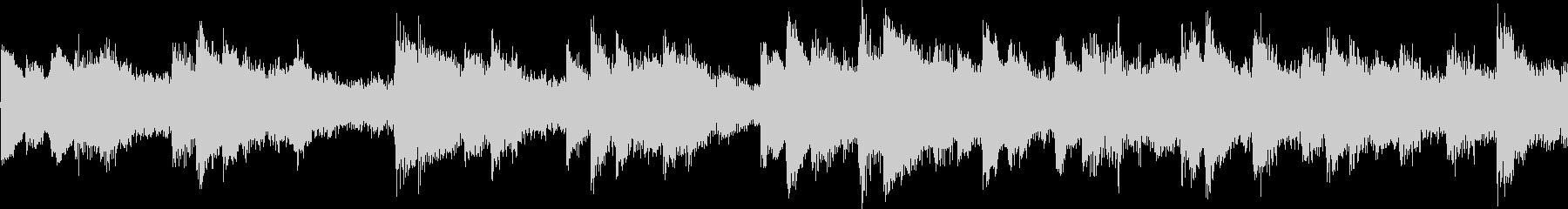 ピアノとストリングスの悲しいBGMループの未再生の波形