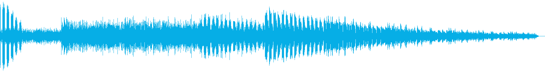 AMGアナログFX 25の再生済みの波形