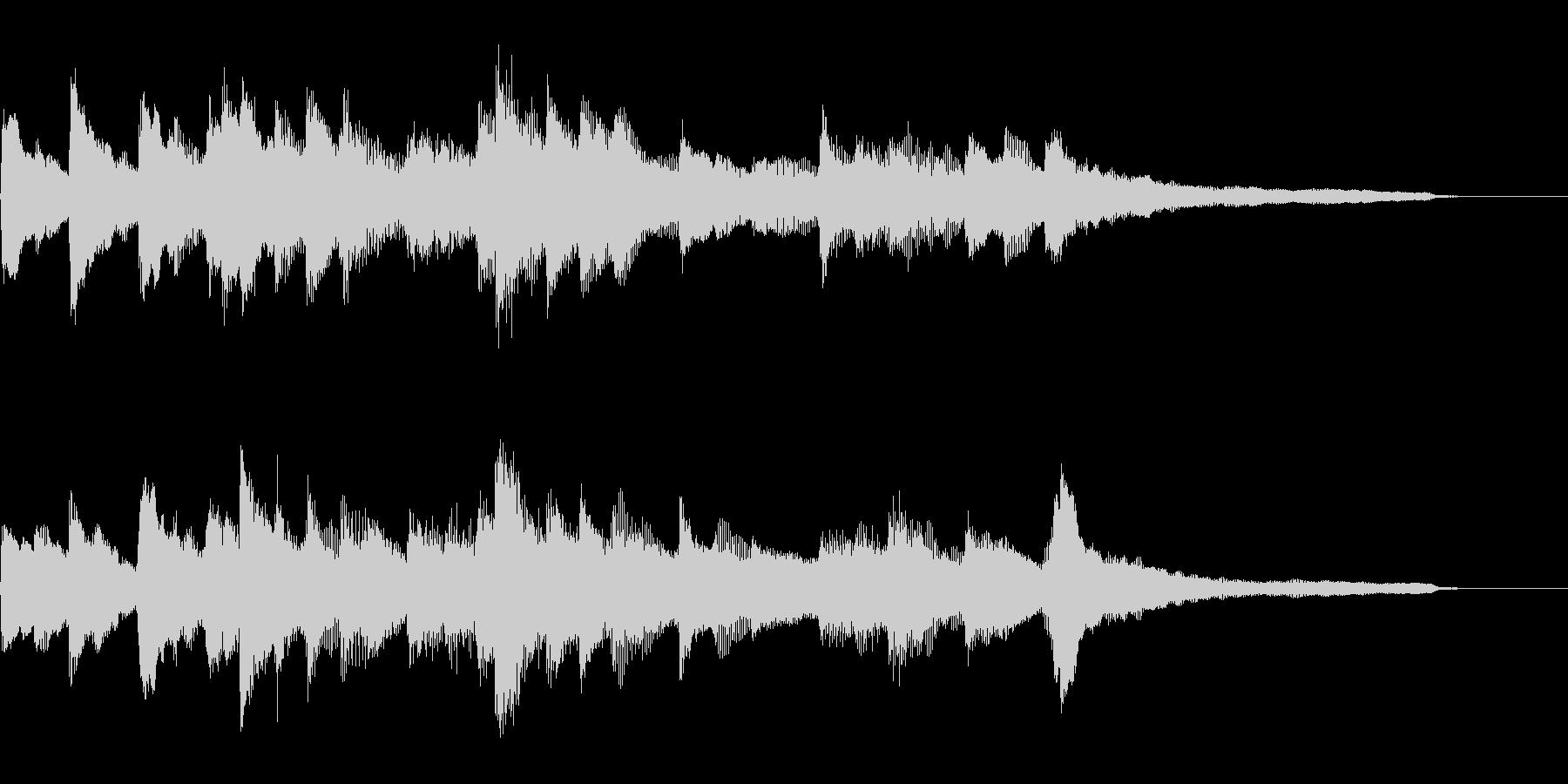 合唱曲前奏風ジングル29-ピアノソロ の未再生の波形