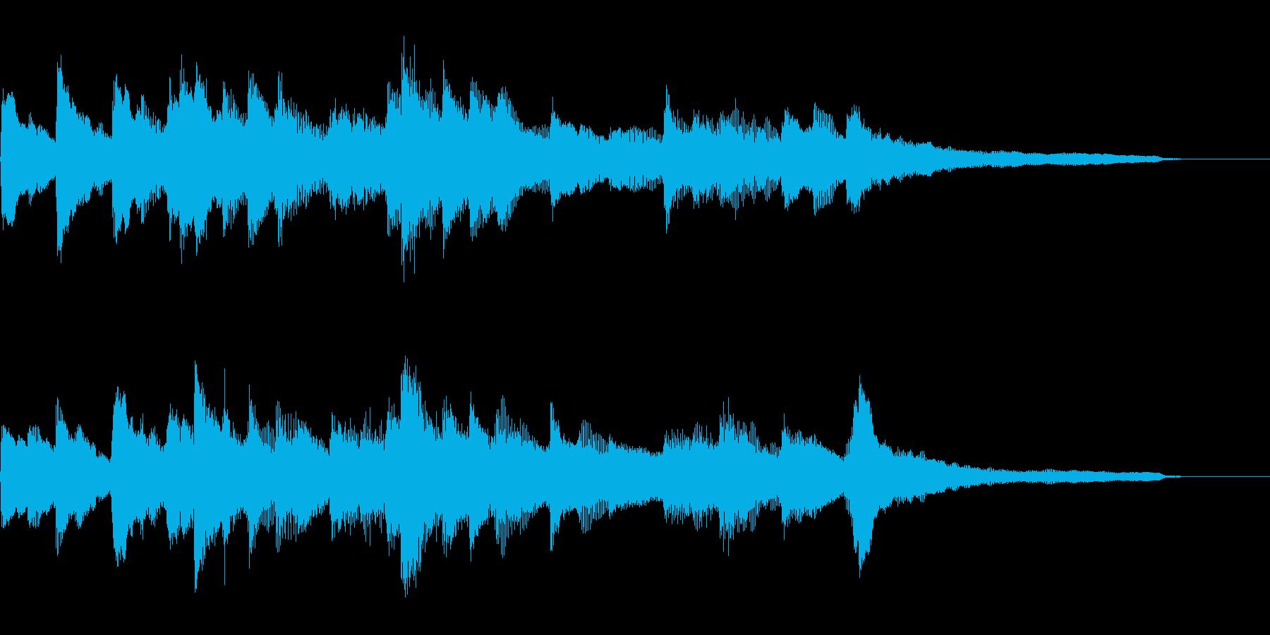 合唱曲前奏風ジングル29-ピアノソロ の再生済みの波形