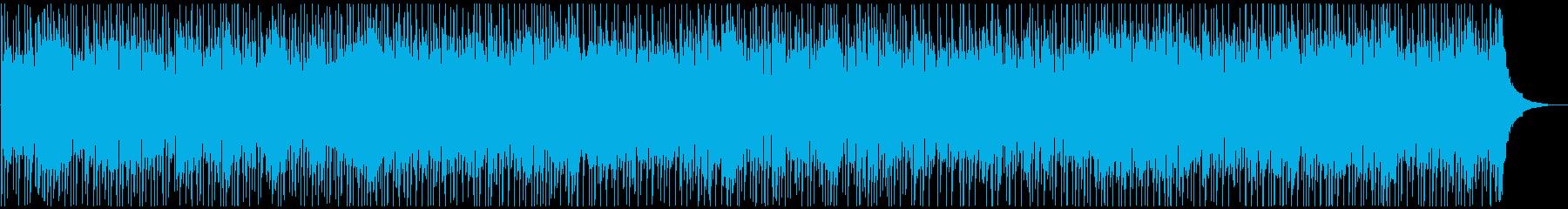歯切れのいいカントリー調ロックの再生済みの波形