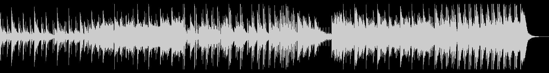 ピアノ・オルガン・雨音の温シティポップの未再生の波形