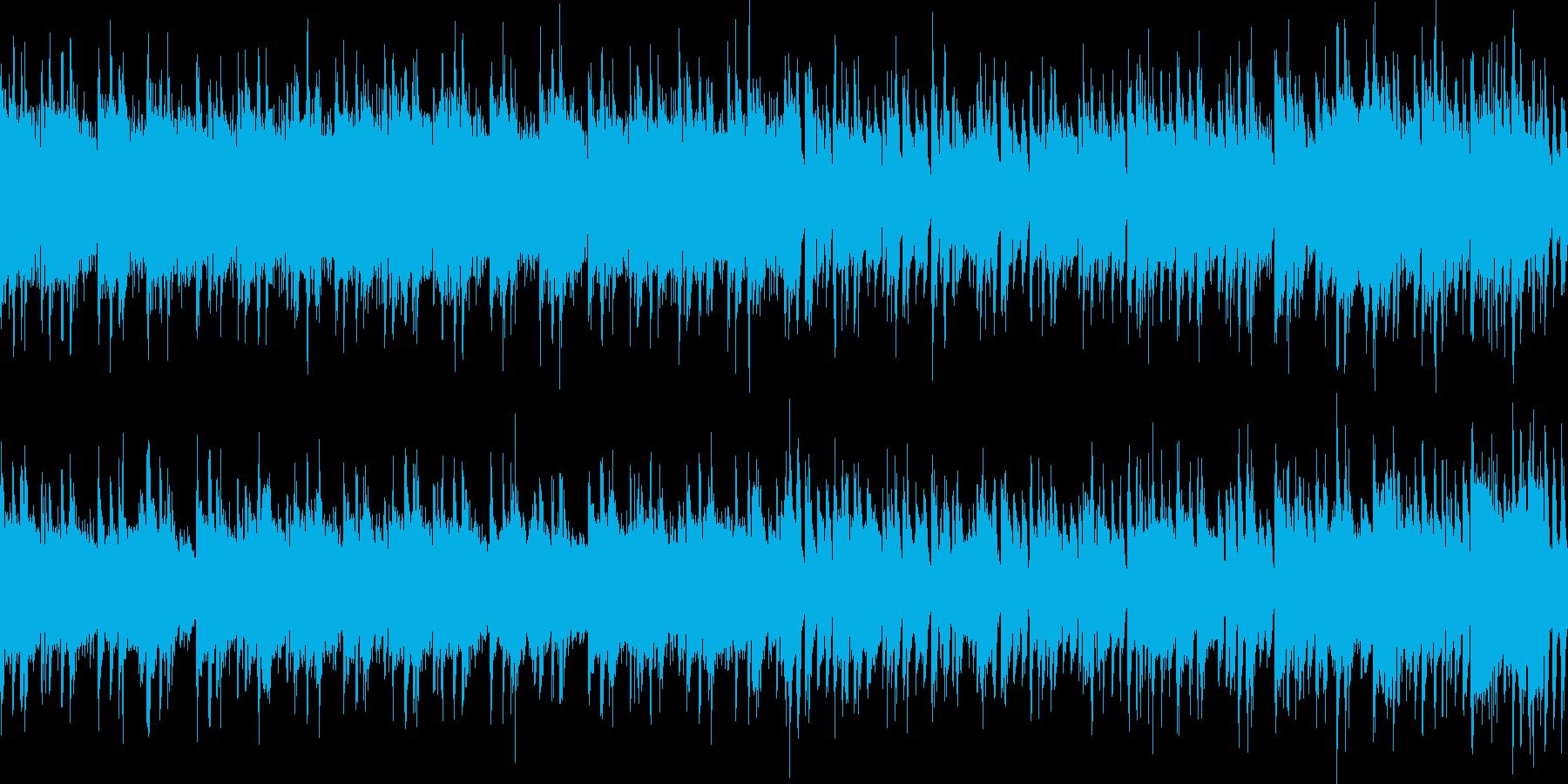 RPGバトルに シリアス妖艶ピアノジャズの再生済みの波形