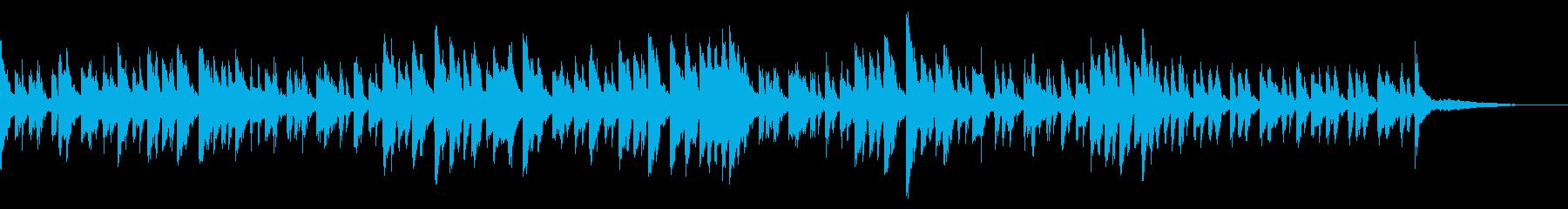 ちょっぴり上品でさわやかなピアノのサンバの再生済みの波形