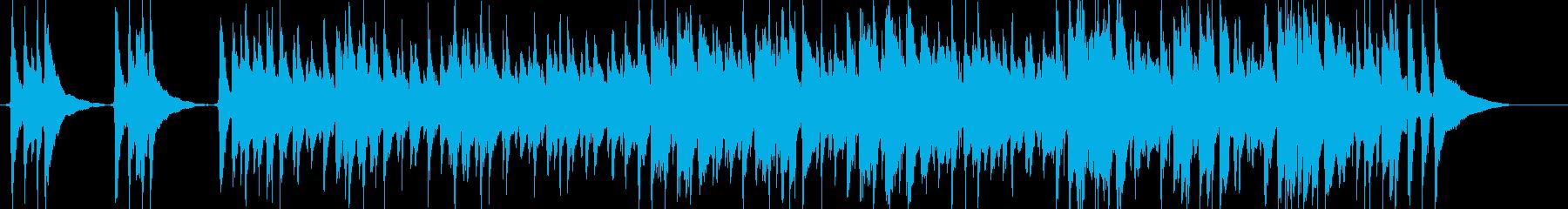 アコースティック楽器。ウレレとアコ...の再生済みの波形