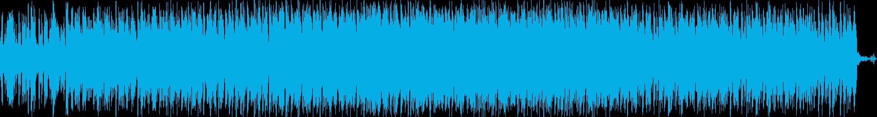 和楽器を使用したHIPHOPの再生済みの波形