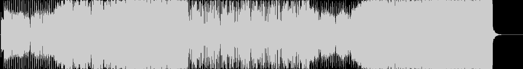 幻想的なfuture bass BGMの未再生の波形