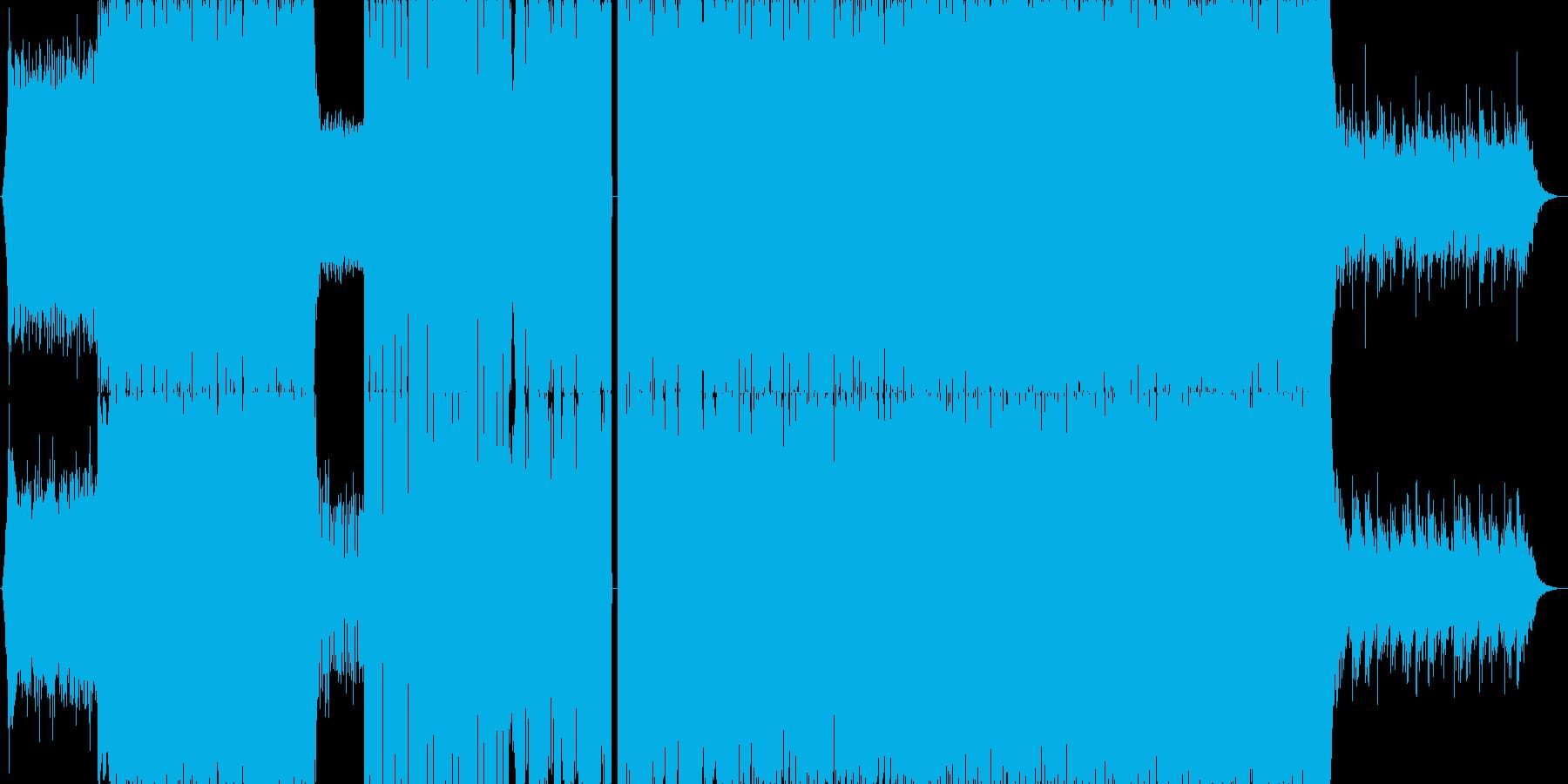 【イベント】疾走感のあるドラムン・ベースの再生済みの波形