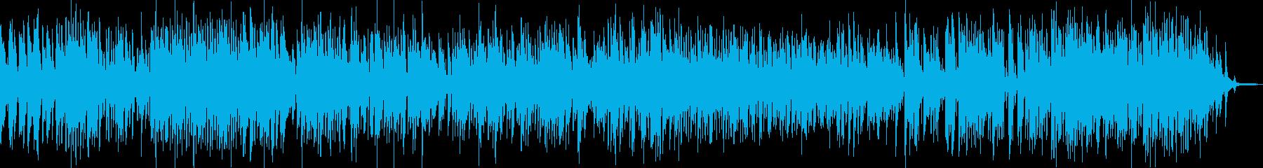 軽快で大人なアコースティックジャズの再生済みの波形