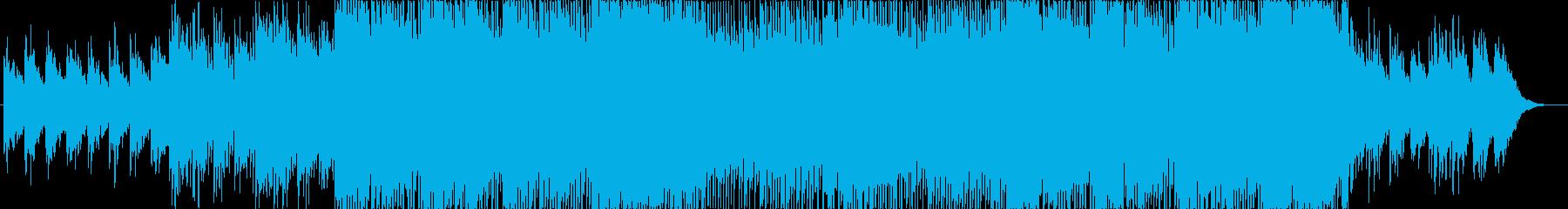 さわやかなポップ系EDMの再生済みの波形