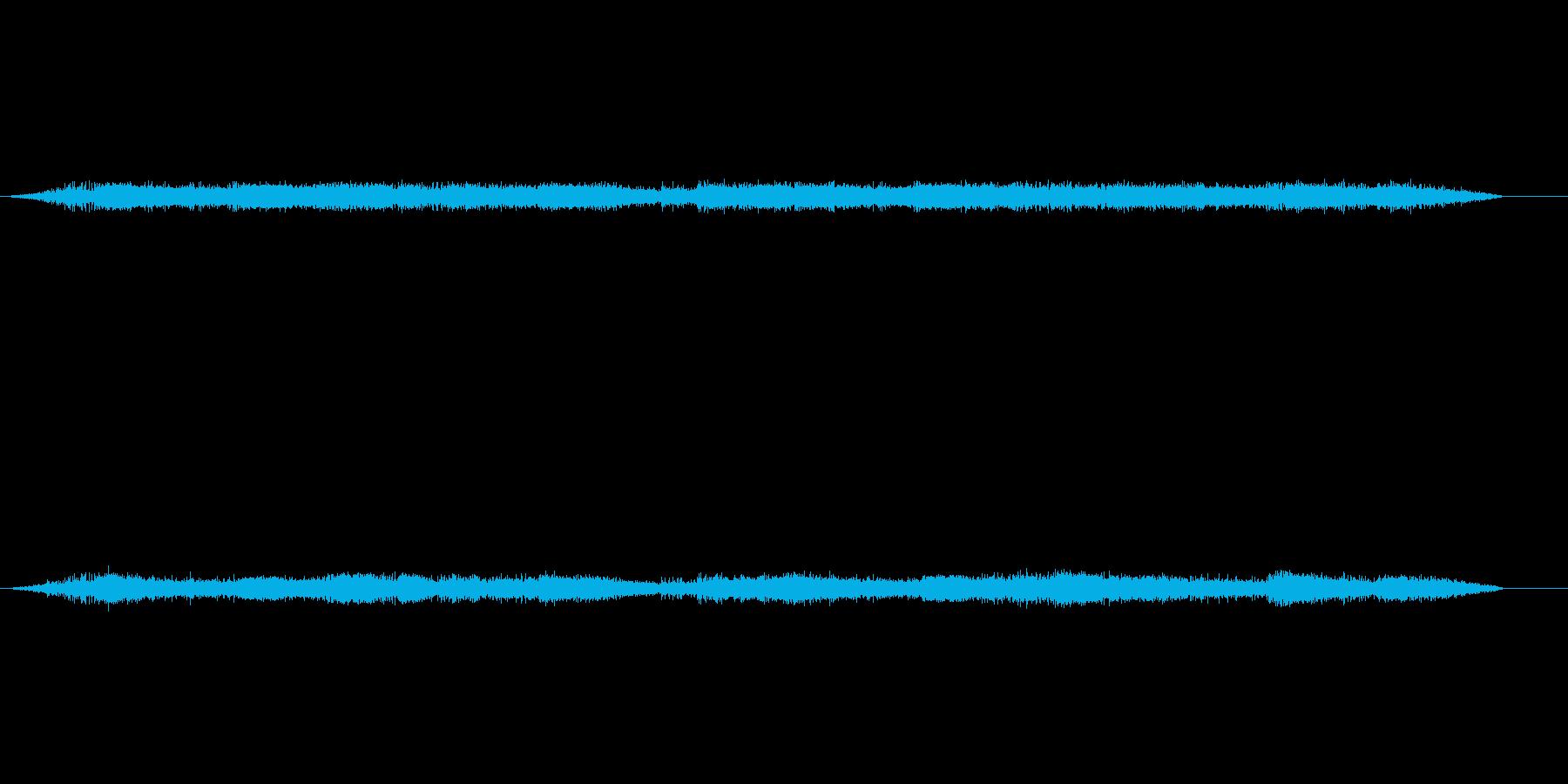バブリング、残響インテリアのヒッシ...の再生済みの波形