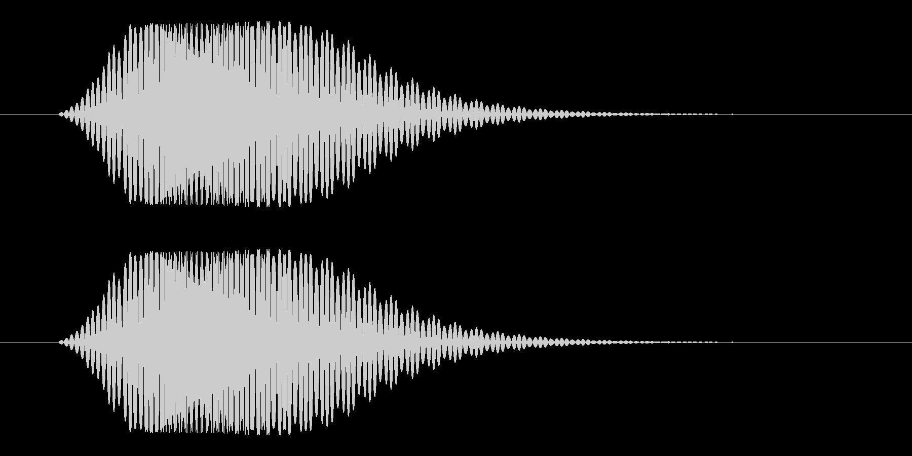 スワイプ_キャンセル(フォン)の未再生の波形