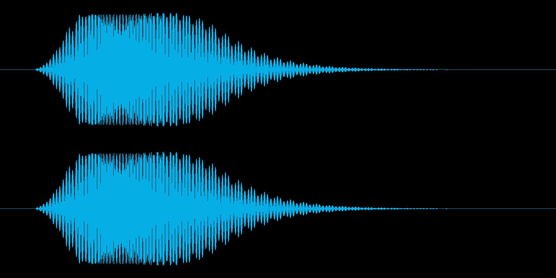 スワイプ_キャンセル(フォン)の再生済みの波形