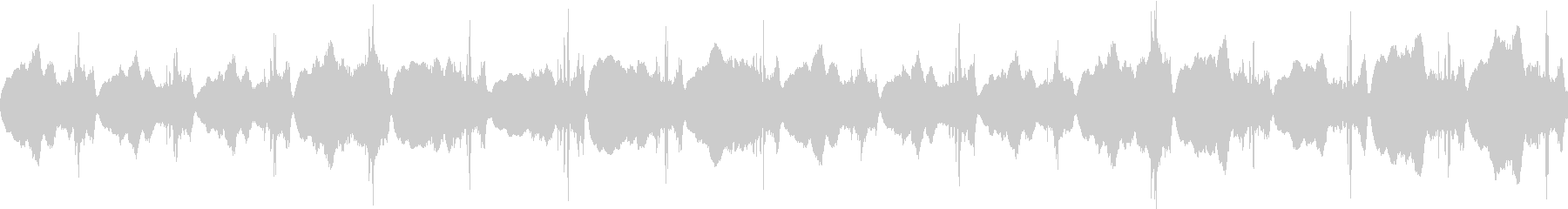何かが起きる前兆、不吉な予感:不協和音の未再生の波形