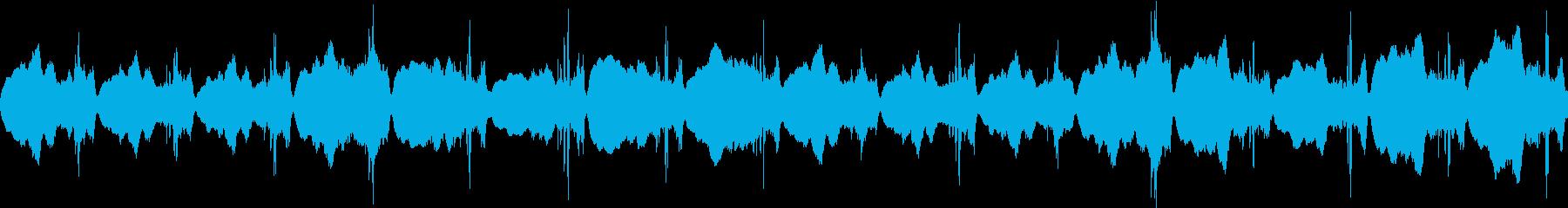 何かが起きる前兆、不吉な予感:不協和音の再生済みの波形