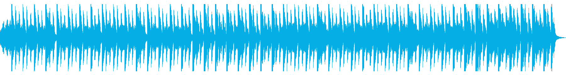 ファンタジー感のある壮大なワルツの再生済みの波形