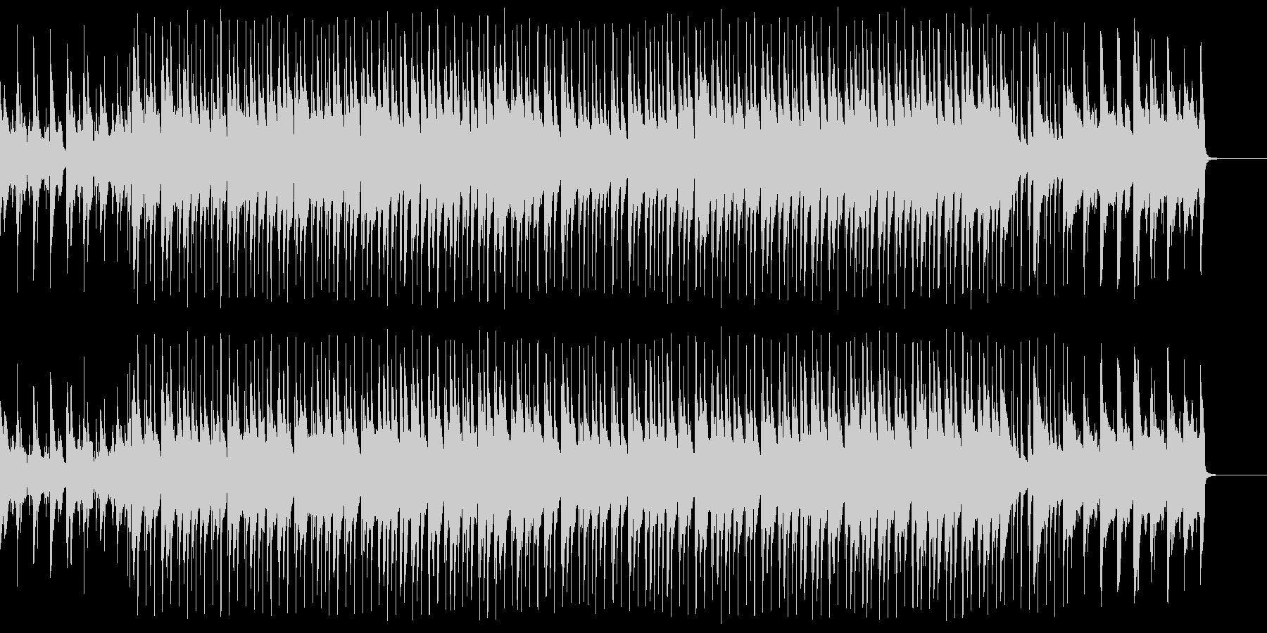 ピアノ、アコースティックギター、シ...の未再生の波形