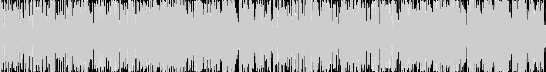 軽快なエレクトロです。日本語をドイツ語…の未再生の波形