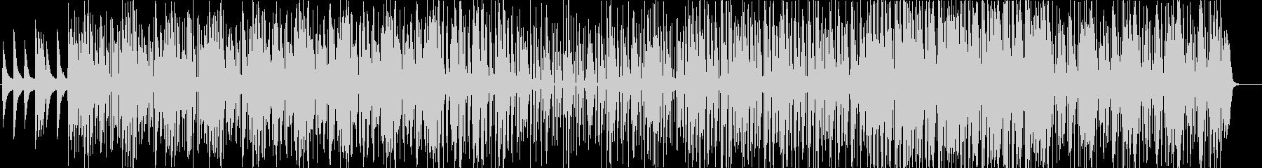 メロウでローファイなHIPHOPの未再生の波形
