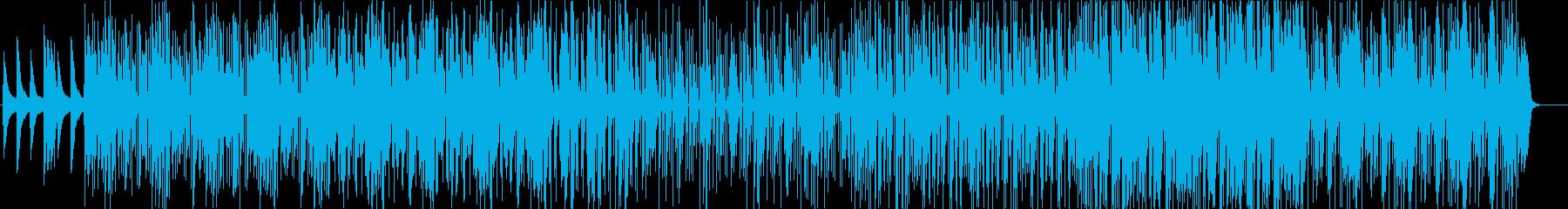 メロウでローファイなHIPHOPの再生済みの波形