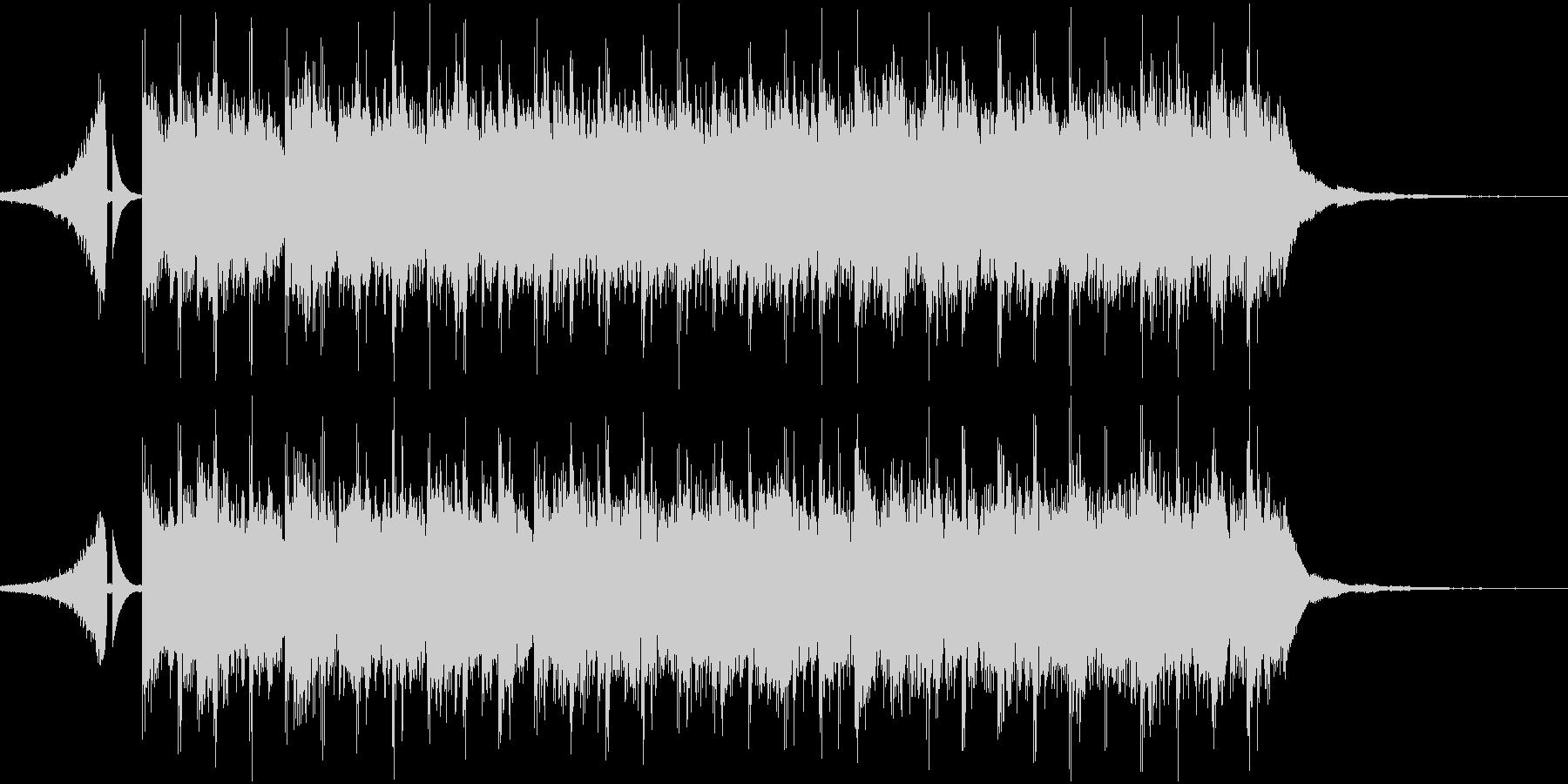 予告などに使えるポップなシンセの短い曲の未再生の波形