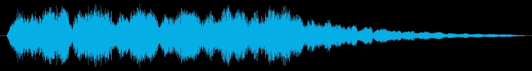 パッド SF不思議な惑星08の再生済みの波形