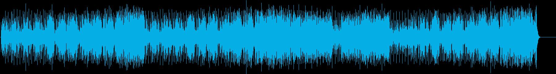 弾みがエキセントリックなフュージョンの再生済みの波形