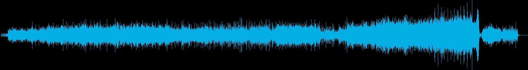 ベートーベン「悲愴」チルアウト風アレンジの再生済みの波形