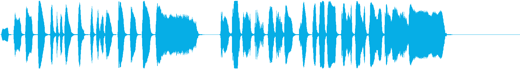 トランペット:アクセント、コミカル...の再生済みの波形