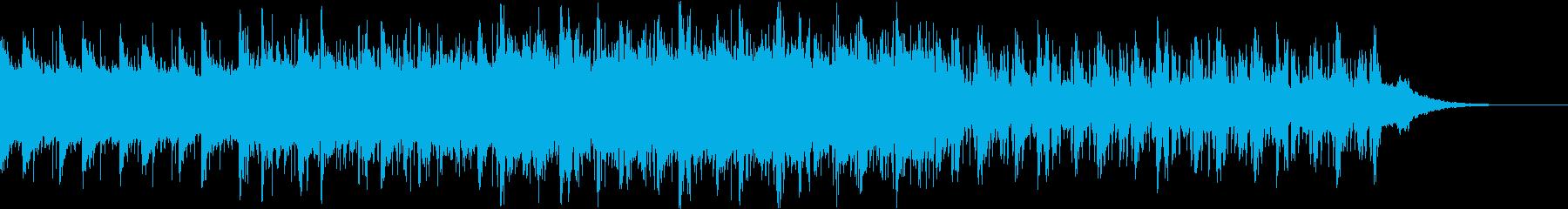Pf「深海」和風現代ジャズの再生済みの波形